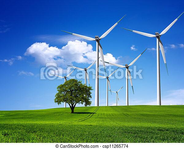 περιβάλλον , πράσινο  - csp11265774