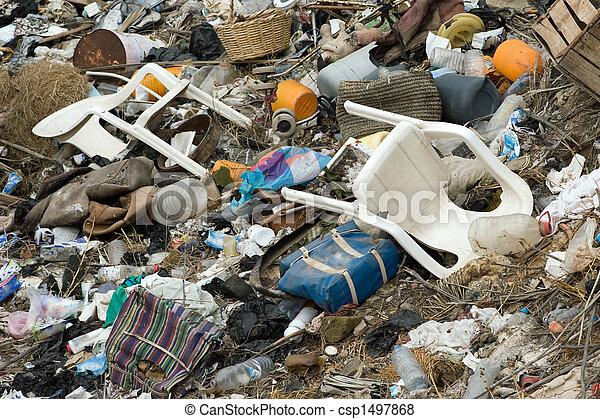 περιβάλλον , ρύπανση  - csp1497868
