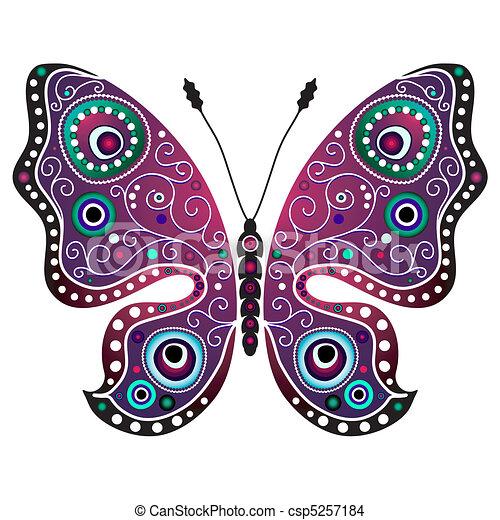 πεταλούδα , ευφυής , αφαιρώ  - csp5257184