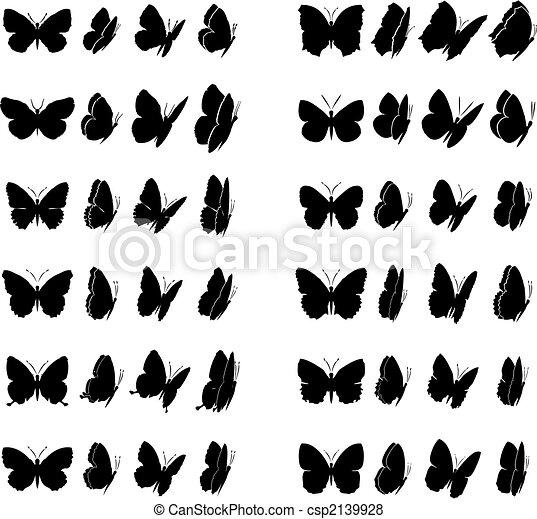 πεταλούδα , 2 , συλλογή  - csp2139928