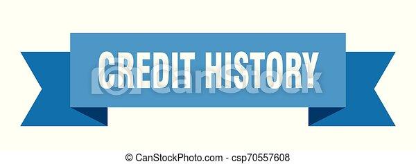 πιστώνω , ιστορία  - csp70557608