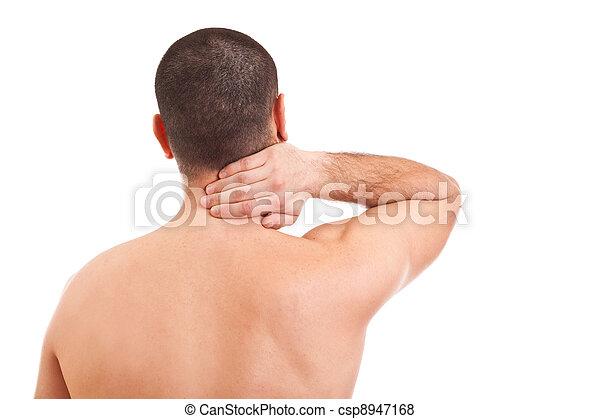 πονώ , λαιμόs , άντραs  - csp8947168