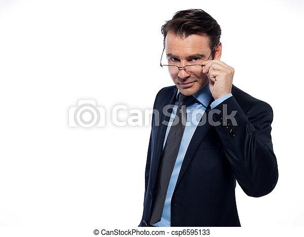 πορτραίτο , άντραs , διανοούμενος , αμπάρι βάζω τζάμια  - csp6595133