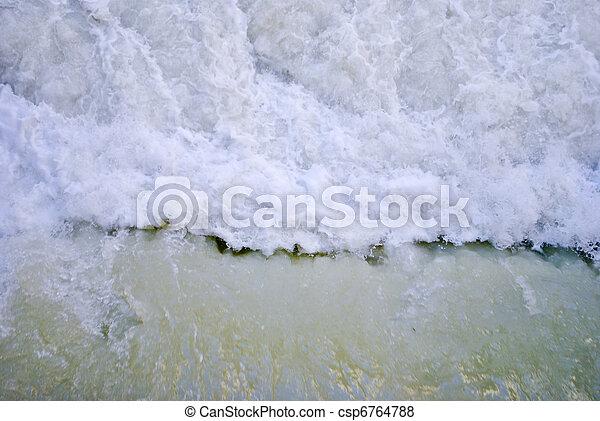 ποτάμι , καταρράκτης  - csp6764788