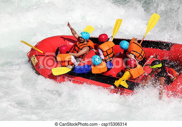 ποτάμι , μαούνα  - csp15306314