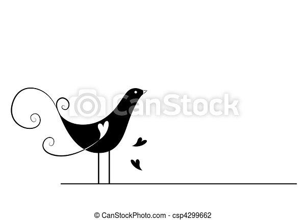 πουλί  - csp4299662