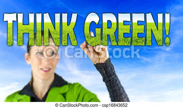 πράσινο , κρίνω  - csp16843652