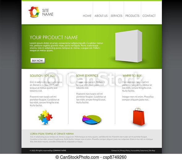 προϊόν , μικροβιοφορέας , homepage , μοντέρνος , φόρμα  - csp8749260