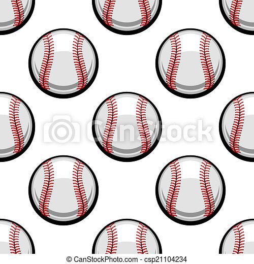 πρότυπο , αρχίδια , μπέηζμπολ , seamless - csp21104234