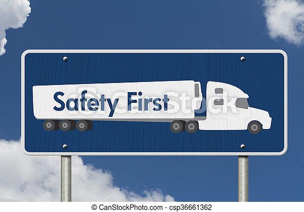 πρώτα , σήμα , ασφάλεια  - csp36661362