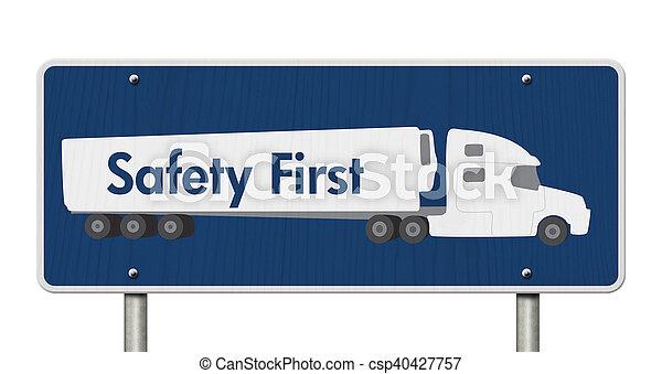 πρώτα , σήμα , ασφάλεια  - csp40427757
