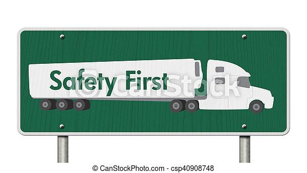 πρώτα , σήμα , ασφάλεια  - csp40908748