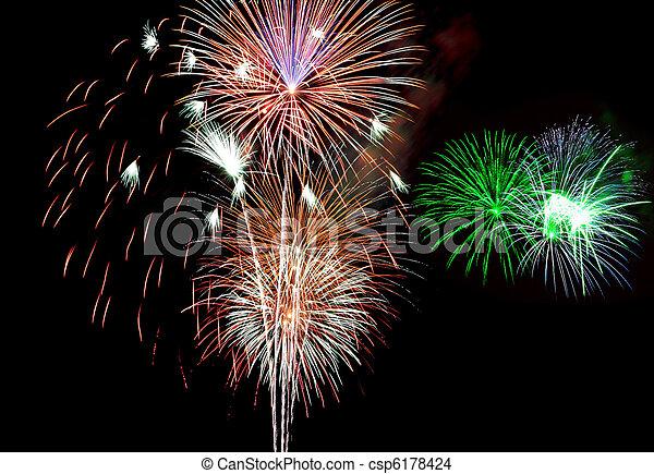 πυροτεχνήματα  - csp6178424