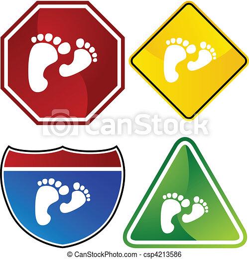 πόδια  - csp4213586