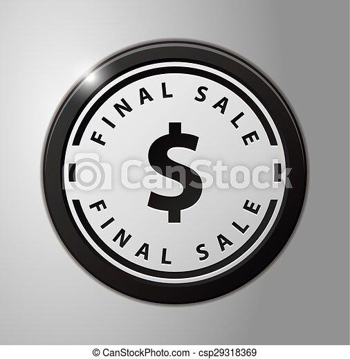 σήμα , τελικός , πώληση  - csp29318369