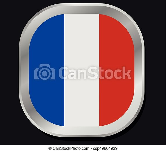 σημαία , γαλλίδα  - csp49664939