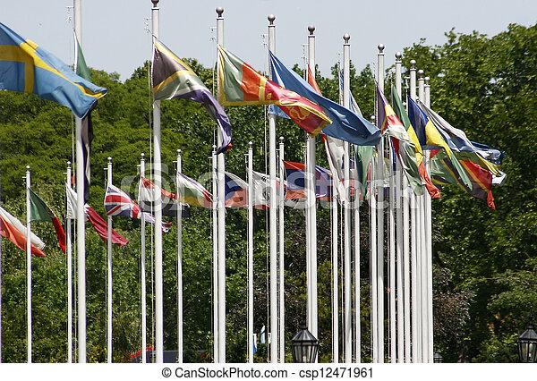 σημαίες  - csp12471961