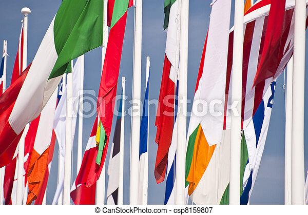 σημαίες  - csp8159807