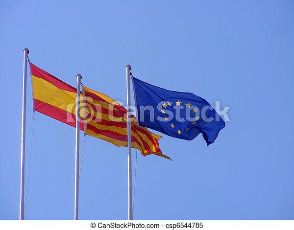 σημαίες  - csp6544785