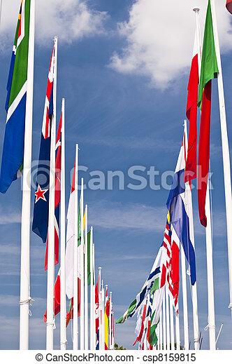 σημαίες  - csp8159815