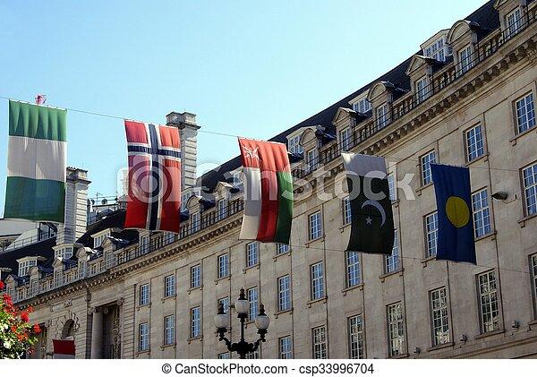 σημαίες  - csp33996704
