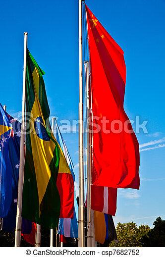 σημαίες  - csp7682752