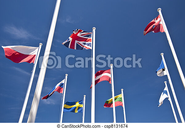 σημαίες  - csp8131674