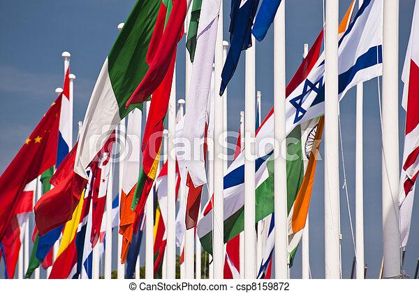 σημαίες  - csp8159872