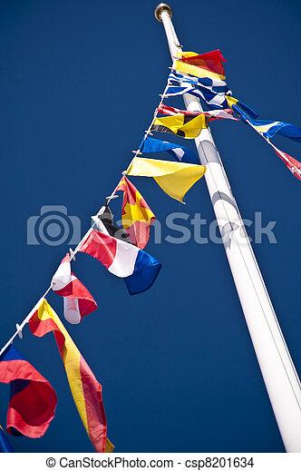 σημαίες  - csp8201634