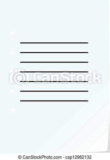 σημειωματάριο , σελίδα  - csp12982132