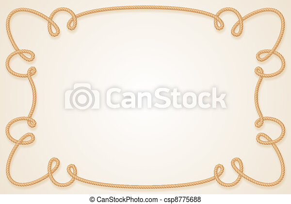 σκοινί , κορνίζα  - csp8775688