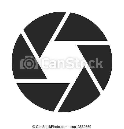 σκοπός , φωτογραφηκή μηχανή , (symbol), εικόνα  - csp13562669