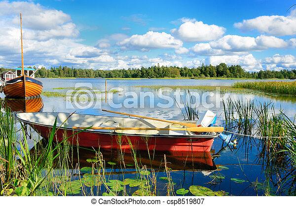 σουηδικά , λίμνη  - csp8519807