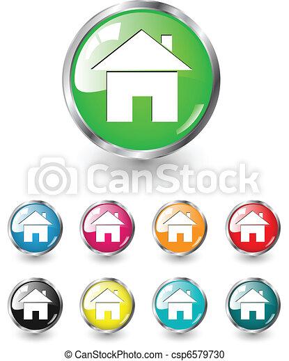 σπίτι , μικροβιοφορέας , θέτω , εικόνα  - csp6579730