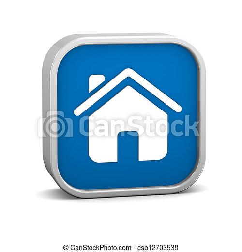 σπίτι , σήμα  - csp12703538