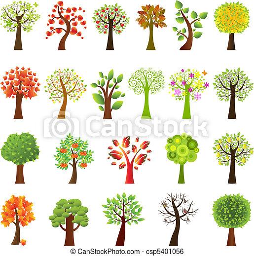συλλογή , δέντρα  - csp5401056
