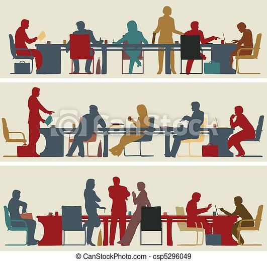 συνάντηση , επιχείρηση  - csp5296049