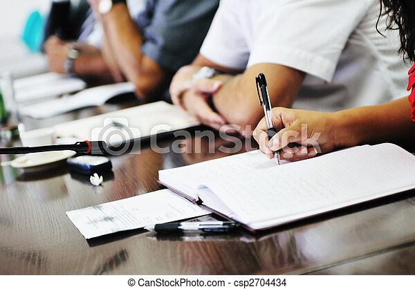 συνάντηση , επιχείρηση  - csp2704434