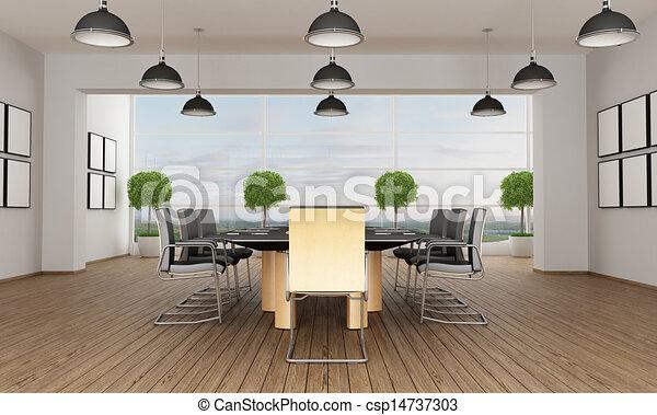 συνάντηση , σύγχρονος , δωμάτιο  - csp14737303