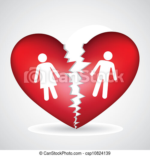 συντετριμμένη καρδιά  - csp10824139