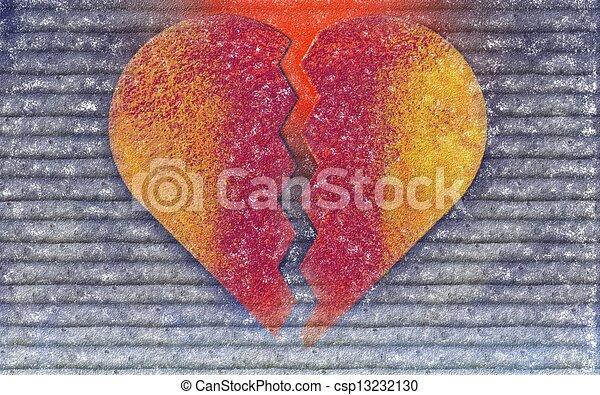συντετριμμένη καρδιά  - csp13232130