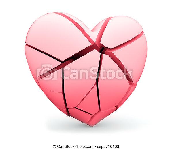 συντετριμμένη καρδιά  - csp5716163