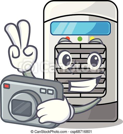 συσκευή ψύξεως , φωτογράφος , γελοιογραφία , απομονωμένος , αέραs  - csp68716801