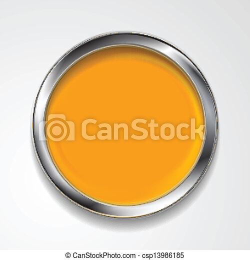 σχήμα , κορνίζα , μικροβιοφορέας , ασημένια , στρογγυλός  - csp13986185
