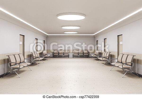 σύγχρονος , αίθουσα αναμονής  - csp77422359