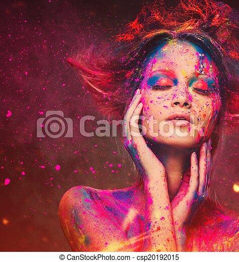 σώμα , κτένισμα , γυναίκα , τέχνη , νέος , μούσα , δημιουργικός  - csp20192015