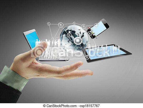 τεχνολογία , ανάμιξη  - csp18157767