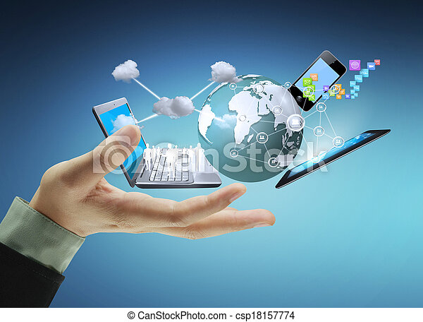 τεχνολογία , ανάμιξη  - csp18157774