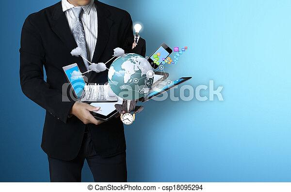 τεχνολογία , ανάμιξη  - csp18095294