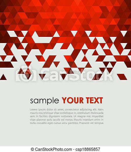 τεχνολογία , αφαιρώ , τρίγωνο , φόντο  - csp18865857